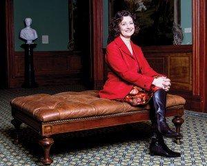 Curator Lynne Ambrosini