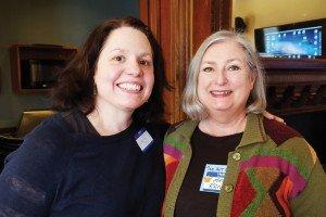Larissa Cullen and Mary Ran