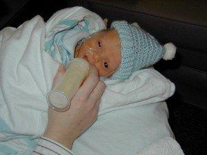Aidan, as a baby