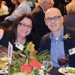 Honorees Lisa and Normand Desmarais
