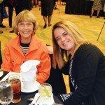 Ruth Faragher and Teri Judy