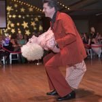 Dancers Desiree Mainous and Dr. Stephen Beck
