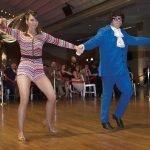 Dancers Doreen Beatrice and Eric Combs