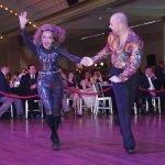 Dancers Dr. Marianna Vardaka and Jozsef Parragh