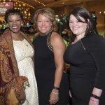 Kathy Wade, a 2007 Dancing for the Stars alum, Jeanette Altenau of event sponsor TriHealth, and Laura Altenau