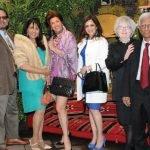 Cincinnati Sister City Organization president Dr. Ratee Apana (second from left) with members of the India Mysore Sister City Association Dr. Rajan Kamath (far left); Hengameh Nassef, Dr. Renu Kotwal, Mary Anne Niskode and Dr. Pat Padmakav Niskode