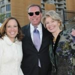 Council member Amy Murray, JW Fleckenstein, Flower Show manager, Cathy Crain