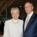 Chair of the Board of the Cincinnati Horticultural Society Marsha Haberer and Ed Haberer