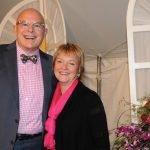 Dr. John O'Connor and Gala chair Diann Bridenbaugh