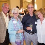 Bernie Barbash, Shelly Manes, Dennis Manes and Pam Barbash