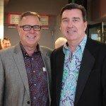 Mark Haggard and Dan Brown
