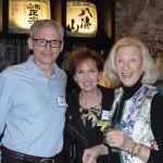 Josh Harkavy, Nancy Johannigman and Roz Harkavy