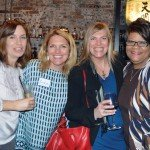 Lisa Tuck Loring, Erika Meyer Judd, Denise Montfort and Robie Suggs