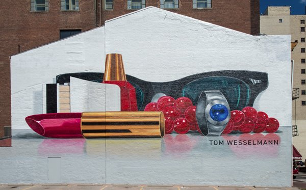 "Tom Wesselmann's ""Still Life #60,"" on the Artworks Mural Tour"