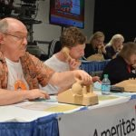 Volunteers from Clifton Market work the phones.