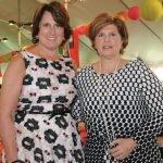 Ellen Grossi and Stephanie Sudbrack-Busam, Ladies Day co-chairs