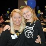 Chrissie Blatt and daughter Ella Blatt