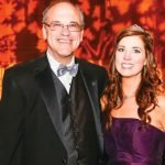 JDRF board president Mark Kacher with JDRF executive director Melissa Newman
