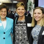 Ceil Kuzma, Gail Moore and Catherine Moore