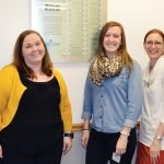 McClain Scholars: Audrey Dumas, Amy Blesser, Emily McCracken, Chasity Rush, and Renee Phelia