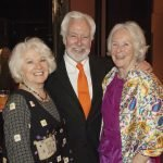 Artist Beverly Erschell, former CAC director Dennis Barri and Weston Art Gallery board Mmember Helen Heekin