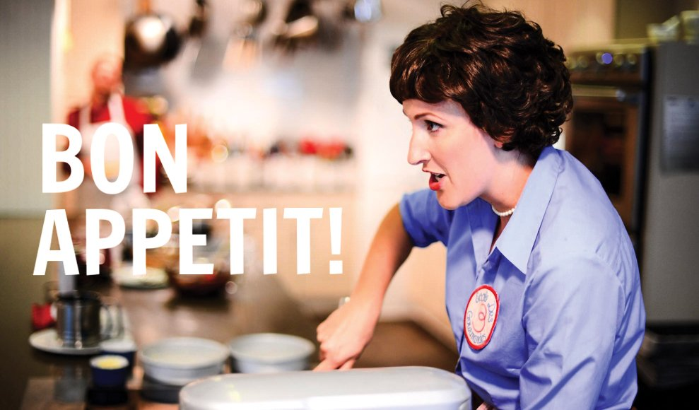 Mezzo-soprano Ellen Graham will sing and bake as Julia Child.
