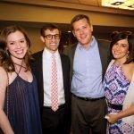 Jenny and John Krehbiel Jr. with JP and Jena Miller