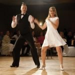 Talent co-champion Jennifer Kinsley and Jeremy Mainous