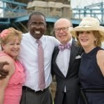 Marijane Klug and Willie Carden with J. David and Dianne Rosenberg Credit: Patti Boehnlein | Willow Artistry
