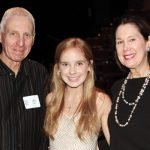 Dr. James B. Willis, Caitlin Cohn and Ronna Willis