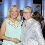 Event chair Marlin Ach with committee member Barb Momper
