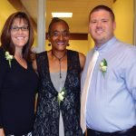 Staff members Jodi Landers, Bernadette Payne and Matt Price