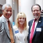 Mitchel Livingston, Judge Melissa Powers and Neil Tilow