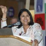 Emcee Dr. Rekha Chaudhary