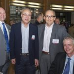 Dr. David Plas, Dr. Xiaoyang Qi, Dr. Ronald Warnick and Dr. John Breneman