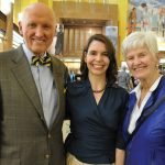 Dr. John Tew, Dr. Jess Guarnaschelli and Susan Tew