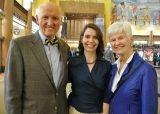 Dr. John Tew, Dr. Jess Guarnaschelli and Susan Tew