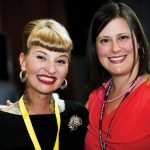 Molly Wellmann and Tina Freson, a WHW board member