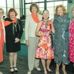Mary Miler, JANCOA; Peg Moertl, PNC; Leigh Prop, formerly of Fifth Third; Pam Weber, PNC; Heidi Jark, Charlotte R. Schmidlapp Foundation, Fifth Third Bank; and Kathy Beechem, Crossroads
