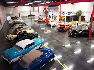 The Jeff Wyler classic car collection