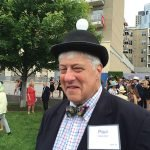 """If Paul Sittenfeld has any """"idea"""" where he found his hat, he didn't share it with us."""