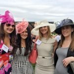 "Suzanne Murray, Brooke Ringstaff, Heather Snell, Erin Ramey in their ""Derby"" hats"
