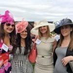 "Suzanne Murray, Brooke Ringstaff, Heather Snell, Erin Ramey in their ""Derby"" hats"