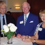 Phil Taliaferro with Mer and Susan Grayson