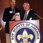 Former Gov. Bob Taft and Ed Diller