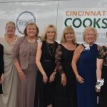 The President's Project committee: Kacey Schmitt, Cynthia Cole, Noel Julnes-Dehner, Jane Hlad, Gretchen Thomas, Priscilla Ungers, Sue Showers, Suzanne Lakamp, CWC president Mary Lou Motl