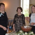 Debbie Wolf Campbell with Donna Perzigian and Sally Sieger