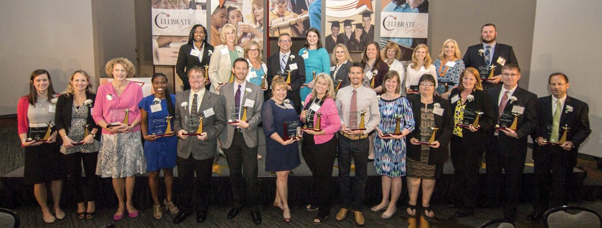 The 25 Educators of the Year presented by the Hamilton County Education Foundation