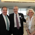 Joe Trauth, Dr. Dean Kereiakes and Barbara Trauth