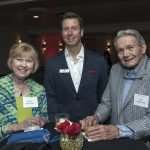 Marilyn Wildermuth, Ben Wells and Bob Wildermuth